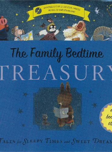 Tales for Sleepy Times and Sweet Dreams [Treasury with CD,Hardcover] 睡前的8个故事(《五只小猴子》作者的睡前故事集,精装含CD) ISBN 9780547857862