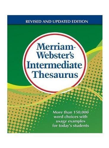 M-W's Intermediate Thesaurus 韦氏中级同义词词典 (适合11-14岁)ISBN 9780877791768