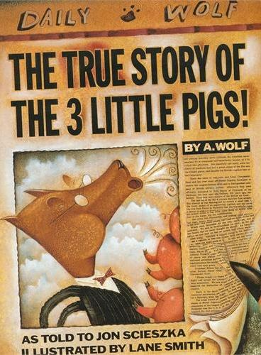 The True Story of the Three Little Pigs 三只小猪的真实故事 ISBN9780140544510