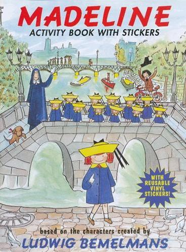 Madeline:The Magnificent Activity Book 玛德琳游戏书 ISBN9780448459035