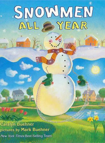 Snowmen All Year [Boardbook] 雪人的一年(卡板书) ISBN9780803739055
