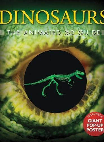 Dinosaurs: The Animated 3-D Guide 3D指南:恐龙(平装大开本) ISBN9781607102489