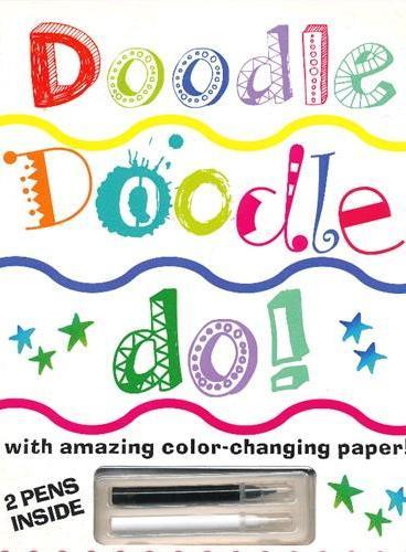 Doodle Doodle Do! 动手涂鸦(含画笔,可变色纸) ISBN9781607103622