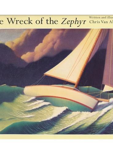 The Wreck of the Zephyr 西风号的残骸(《极地特快》作者作品) ISBN9781849395434