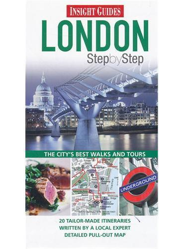 Insight Step by Step London (ISBN=9781780050348)
