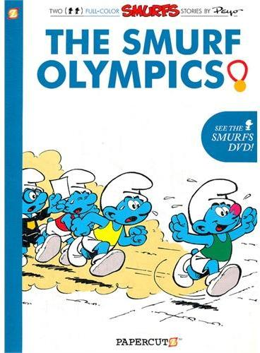 SMURFS #11:The Smurf Olympics 蓝精灵11:蓝精灵奥运会 ISBN 9781597073011