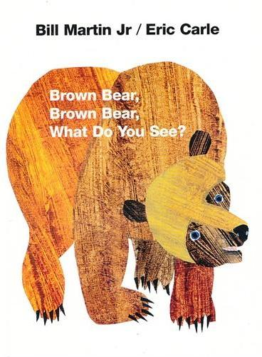 Brown Bear, Brown Bear, What Do You See? [Board Book] 棕熊、棕熊,你看到了什么?(卡板书)ISBN 9780805047905