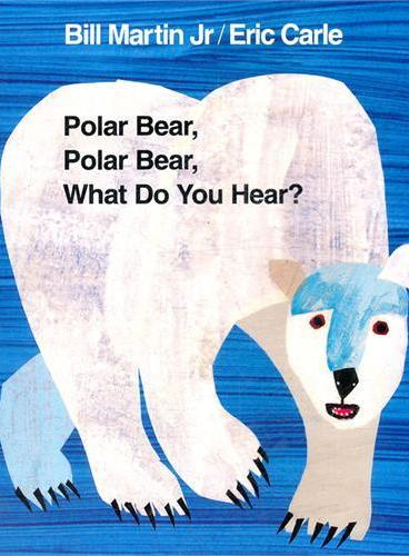 Polar Bear, Polar Bear, What Do You Hear? [Paperback] 北极熊,北极熊,你听到了什么?(平装)ISBN 9780805087987