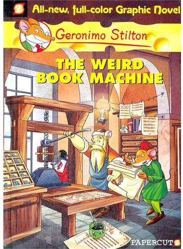 Geronimo Stilton #9:The Weird Book Machine 老鼠记者9 ISBN 9781597072953