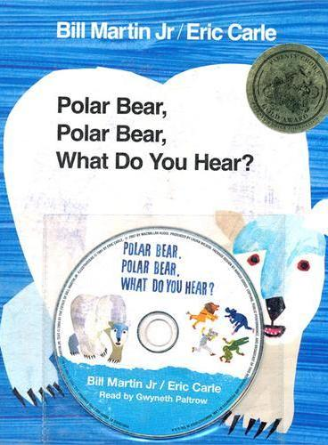 Polar Bear, Polar Bear, What Do You Hear? [Paperback+CD] 北极熊,北极熊,你听到了什么?(附CD)ISBN 9781427207289
