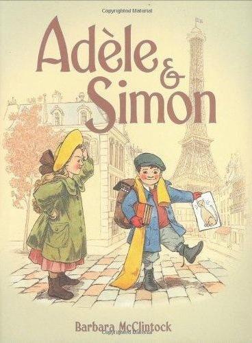 Adele and Simon (Hardcover) 阿黛拉和西蒙在巴黎(精装) ISBN 9780374380441