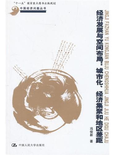 """经济发展与空间布局:城市化、经济集聚和地区差距(中国经济问题丛书;""""十一五""""国家重点图书出版规划)"""
