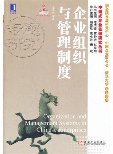 企业组织与管理制度(华章经管 中国式企业管理研究丛书)