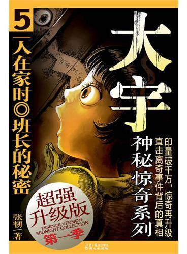 超强升级版·大宇神秘惊奇(第一季)5:一人在家时·班长的秘密(中国最畅销的少儿悬疑侦探小说,累计销售达1200万册,惊奇再升级!)