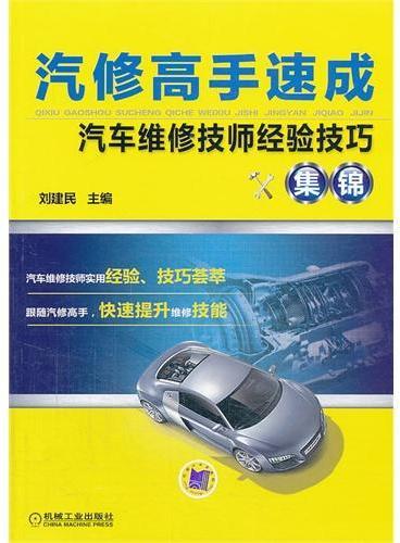 汽修高手速成:汽车维修技师经验技巧集锦