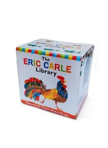 The Eric Carle Library 艾瑞克·卡尔图书馆 ISBN 9781442473072