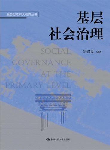 基层社会治理(服务型政府大视野丛书)