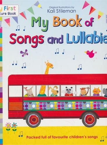 My First Picture Book: My Book of Songs and Lullabies 我的第一本图画书:我的童谣歌曲书 ISBN 9780552564014