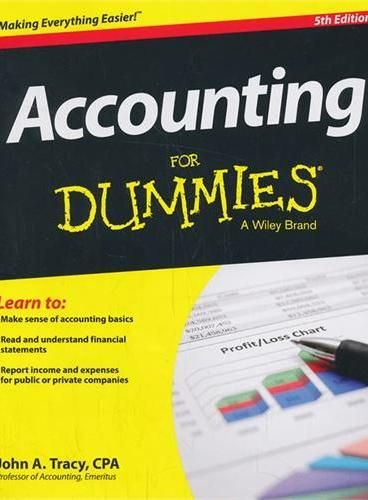 Accounting For Dummies, 5th Edition(9781118482223)