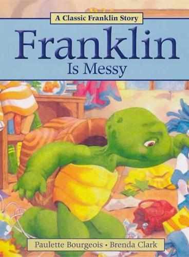 Franklin Is Messy小乌龟富兰克林:富兰克林是小邋遢 ISBN 9781771380003
