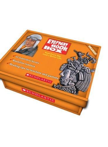 Everyday Book Box: Orange (Book+Audio CD)《天天阅读50本英文故事》第四级-橙色套装 (书+CD) ISBN 9780545445467