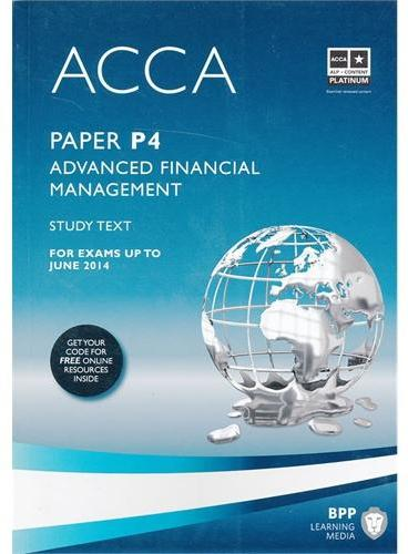 ACCA P4 Advanced Financial Management  (Study Text)