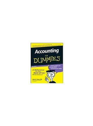 Accounting For Dummies, Fourth Edition 9780470246009