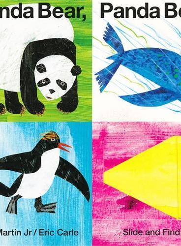 Panda Bear, Panda Bear, What Do You See 熊猫,熊猫,你看到了什么?(卡板书) ISBN9780312515812