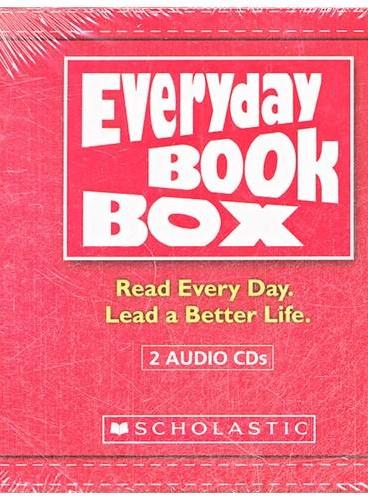 Everyday Book Box: Red [Audio CD Collection]《天天阅读50本英文故事》第一级-红色套装配套CD ISBN9780545470629