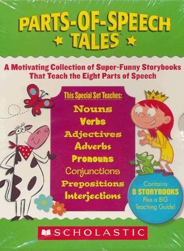 Parts-of-Speech Tales 趣味认知故事集:认识词性 ISBN9780545164580