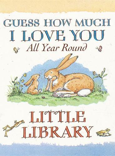 Guess How Much I Love You Mini Library 猜猜我有多爱你-四季篇迷你卡板套装 ISBN9781406330182
