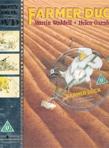 Farmer Duck 鸭子农夫(书+DVD) ISBN9781406317077