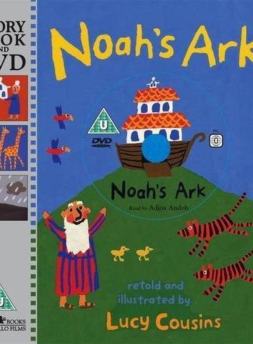 Noah`s Ark 诺亚方舟(书+DVD) ISBN9781406323894