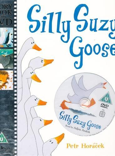 Silly Suzy Goose 傻鹅苏西(书+DVD) ISBN9781406324068