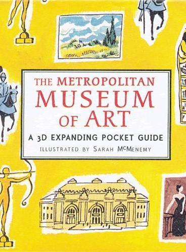 The Metropolitan Museum of Art (Skylines) 纸上城市立体书:大都会艺术博物馆 ISBN9781406339697