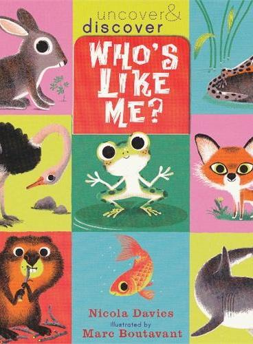 Who`s Like Me? (Uncover & Discover) 谁跟我一样?(翻翻书) ISBN9781406328127