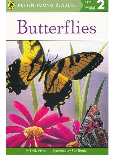 Butterflies (Level 2)蝴蝶(企鹅儿童分级读物2)ISBN9780448494838