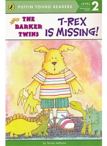 T-Rex Is Missing! (Level 2)霸王龙不见了!(企鹅儿童分级读物2)ISBN9780448494791