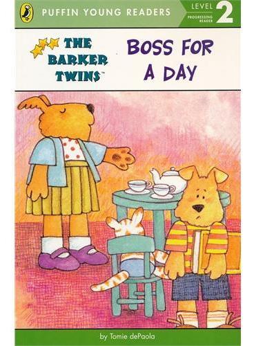 Boss for a Day (Level 2)做一天老板(企鹅儿童分级读物2)ISBN9780448463018
