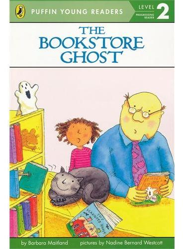 The Bookstore Ghost (Level 2)书店幽灵(企鹅儿童分级读物2)ISBN9780448461311