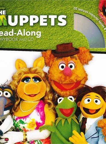 Read-Along系列:The Muppets 布偶秀(书+CD) ISBN9781423133377