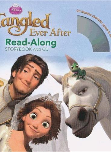 Read-Along系列:Tangled Ever After 长发公主续篇:麻烦不断(书+CD) ISBN9781423165828