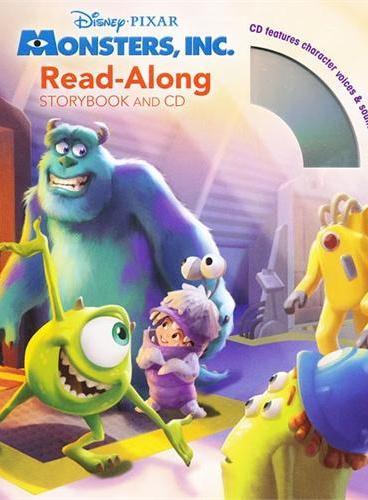 Read-Along系列:Monsters, Inc. 怪兽电力公司(书+CD) ISBN9781423142591