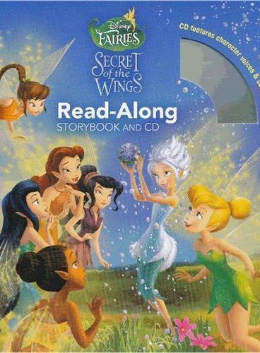 Read-Along系列:Disney Fairies: The Secret of the Wings 奇妙仙子的羽翼之谜(书+CD) ISBN9781423152019
