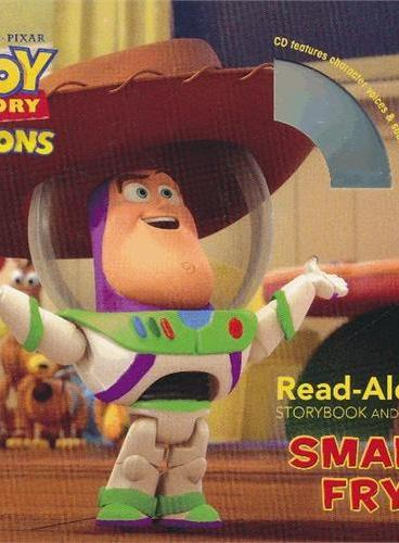 Read-Along系列:Toy Story Toons: Small Fry 玩具总动员:小玩具(书+CD) ISBN9781423165613