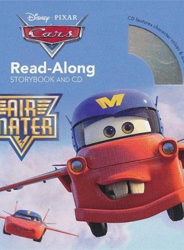 Read-Along系列:Cars Toons: Air Mater 汽车总动员:空中飞行(书+CD) ISBN9781423160144