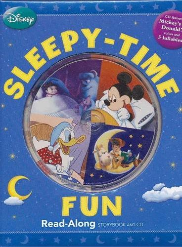 Read-Along系列:Sleepy-time Fun 迪士尼睡前故事(精装+CD) ISBN9781423146865