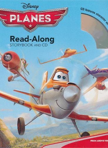 Read-Along系列:Planes 飞机总动员(书+CD) ISBN9781423168881