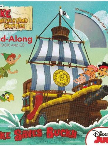 Read-Along系列:Jake and the Never Land Pirates 杰克与永不登陆的海盗(书+CD) ISBN9781423171416