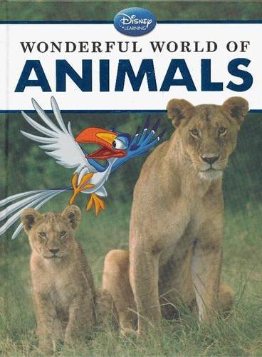 Disney Learning: Wonderful World of Animals 迪士尼科普:神奇的动物世界2(精装) ISBN9781423149408
